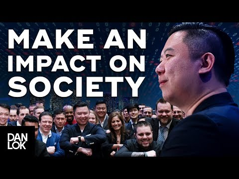 Why Make An Impact On Society
