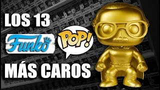 LOS 13 FUNKO POP MÁS CAROS, RAROS Y COTIZADOS   CHRIS LEMIA