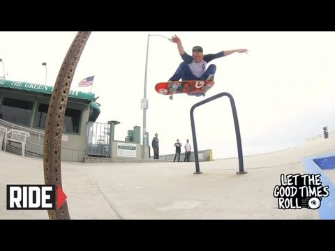 Jimmy Carlin, Jamie Thomas and Crew Skate San Diego - LET THE GOOD TIMES ROLL