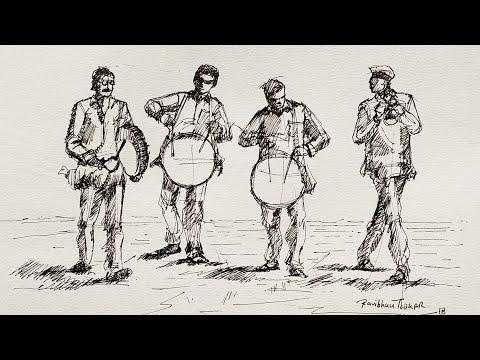 Figure Drawing, Life Drawing, Figures, Sketching, People