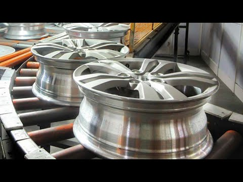Amazing Truck Wheel Production And Other Interesting Manufacturing Technology. Incredible Machines.