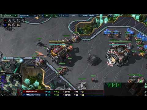 Coaching Master 1 ZvT - Roach Pressure into Ling Bane Muta