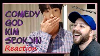 Comedy God Kim Seokjin (BTS) REACTION   MY FACE HURTS!!!