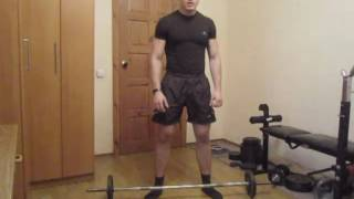 Тренировка ног и ягодиц дома : Урок 12  Становая тяга в стиле сумо