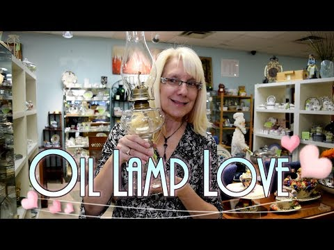 Oil Lamp Love! How to Shop for Oil Lamps.