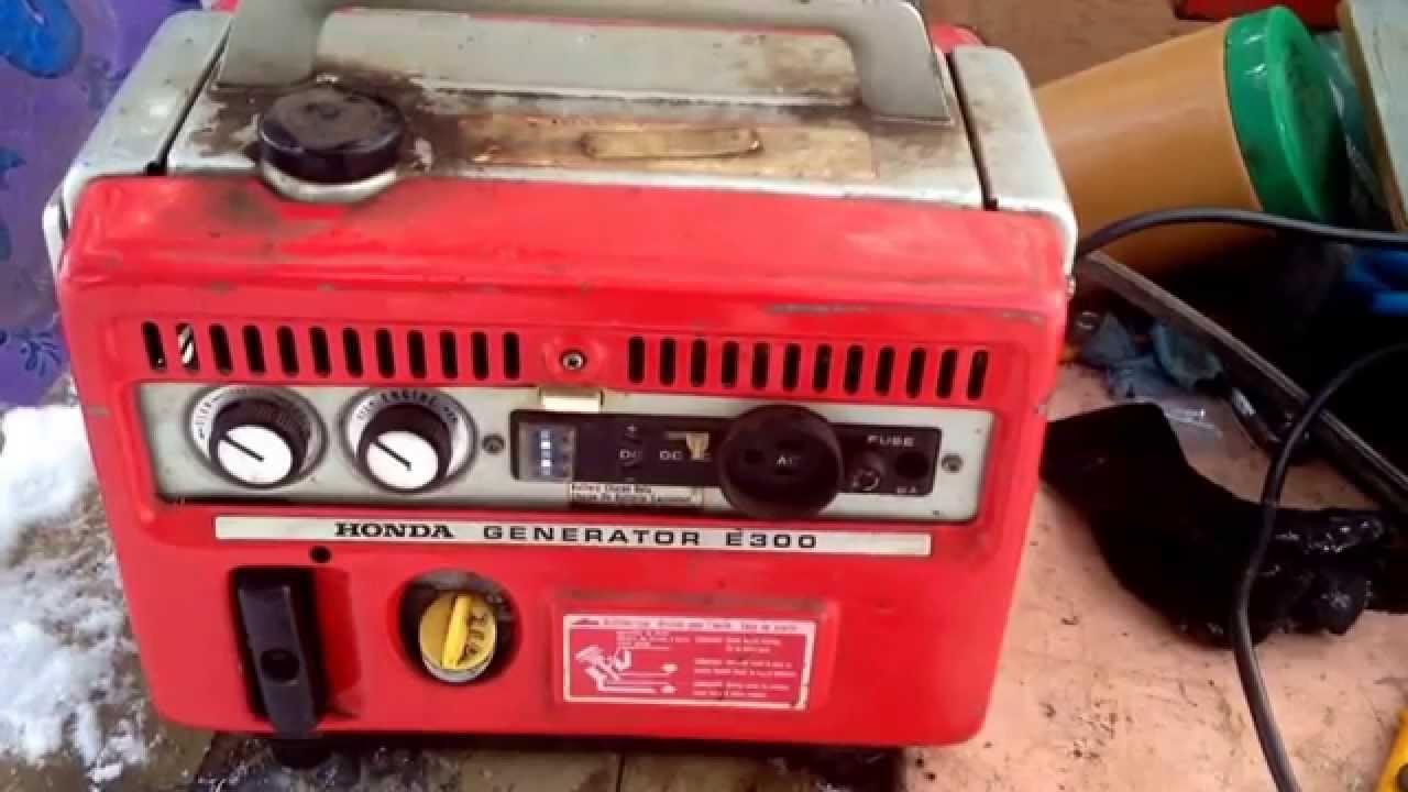 1965 Honda E300 Generator The First Honda Series Generator