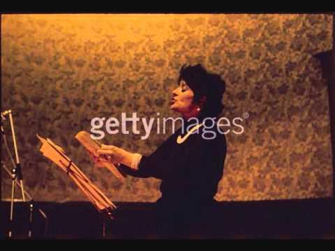 Victoria De Los Angeles. Ich Liebe Dich. E. Grieg.