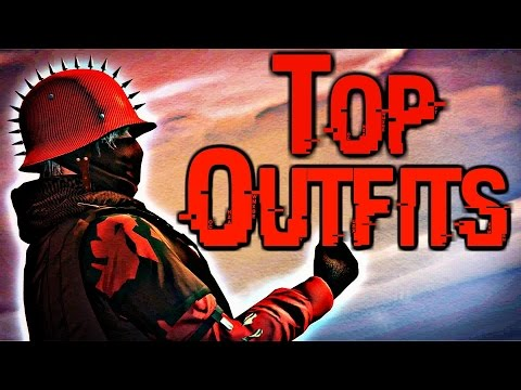 GTA 5 online - My Top Favourite Outfits (Male) + My Settings + Bonus Clips!