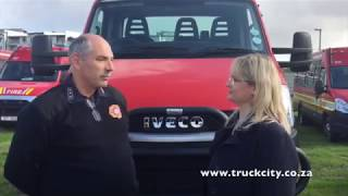 Truck City Cape Town interview with City of Cape Town Fire and Rescue