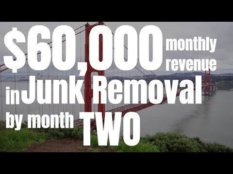 How Chris Grew His Junk Removal Business To $60,000 A Month In Two Months! - JRA Success Stories