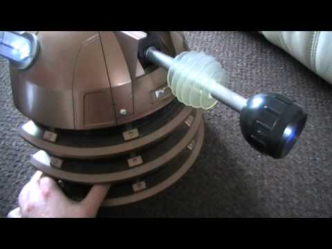 Dalek Cyberman voice