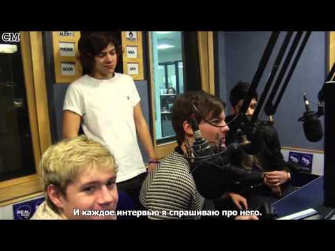 One Direction interview at Real Radio January 31st [RusSub]