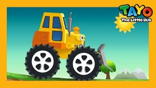 Billy the Bulldozer l Job Game #6 l Learn Street Vehicles l Tayo the Little Bus