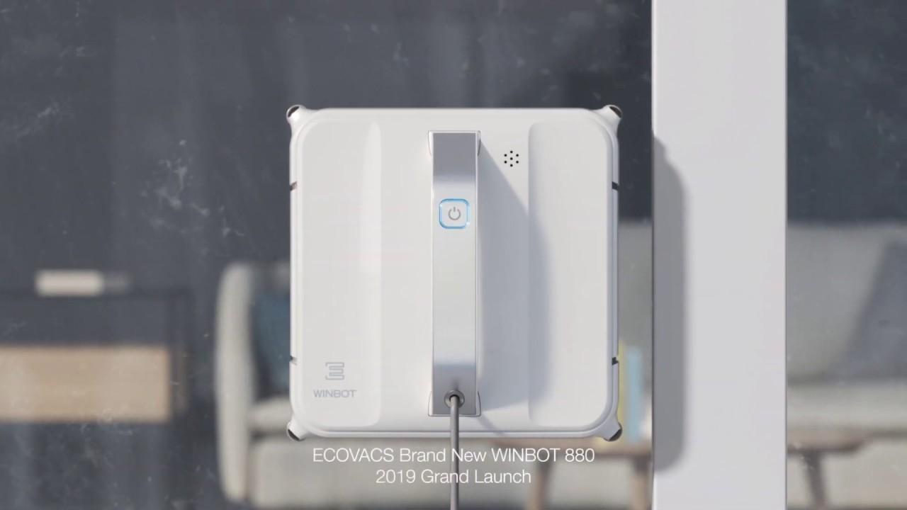Ecovacs Robotics Introducing Winbot 880 Youtube