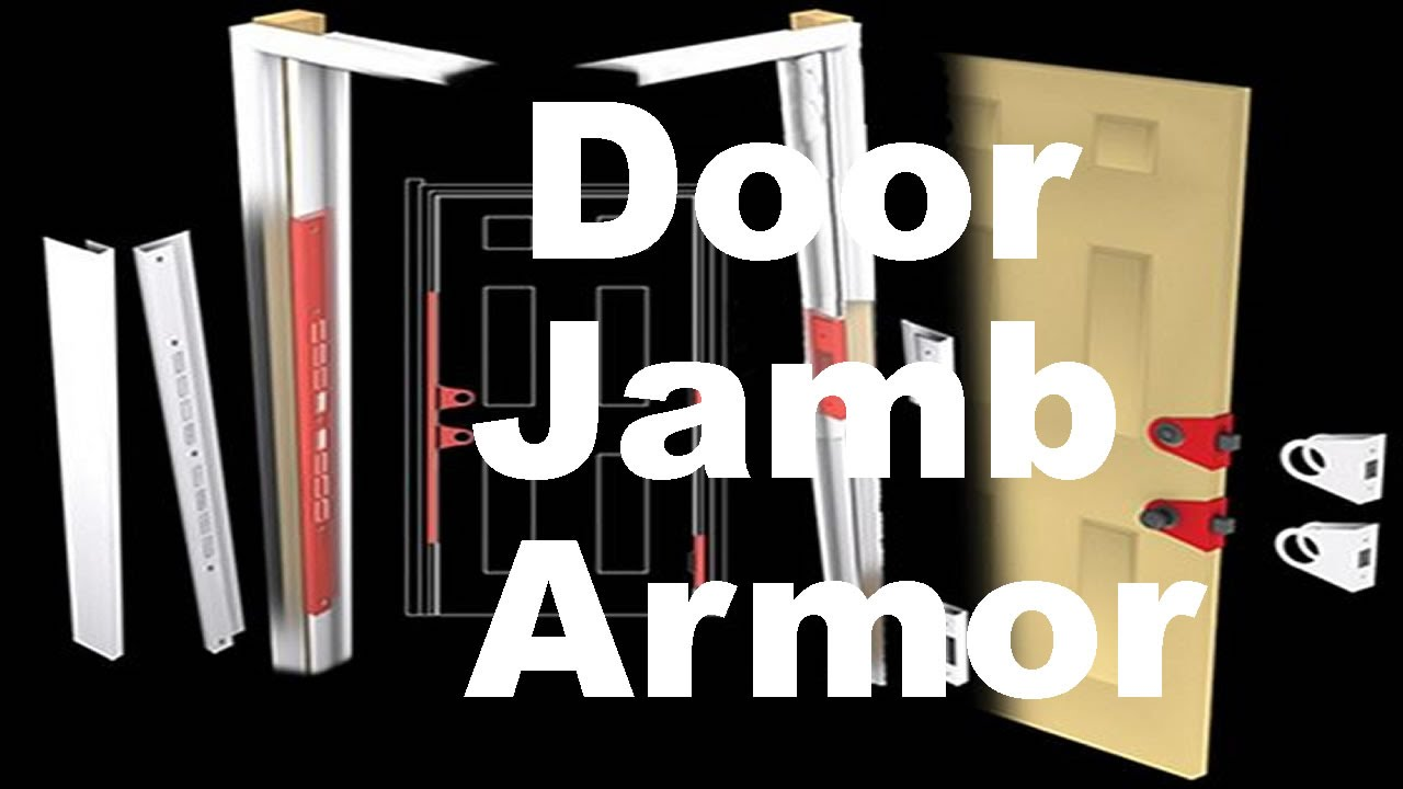 Door Jamb Armor U2013 Reinforcement That Stops Kick Ins