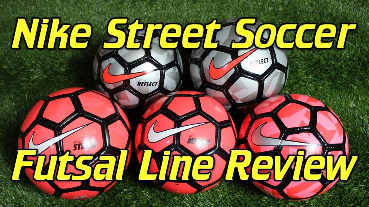 Nike Street Soccer Futsal 2015 Ball Line - Review + Comparison - YouTube a9ae9e98b7d06