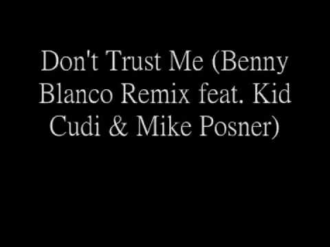 Кліп Mike Posner - Don't Trust Me (Benny Blanco Remix)
