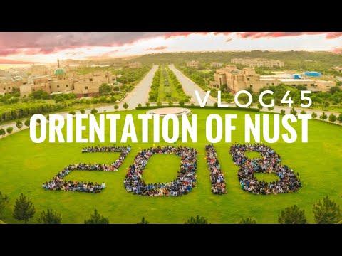 Orientation of NUST'18