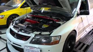 tuned 2007 evo 9 otd custom turbo