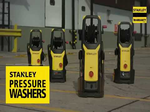 Stanley SW19 & SW21 Induction Motor Pressure Washer