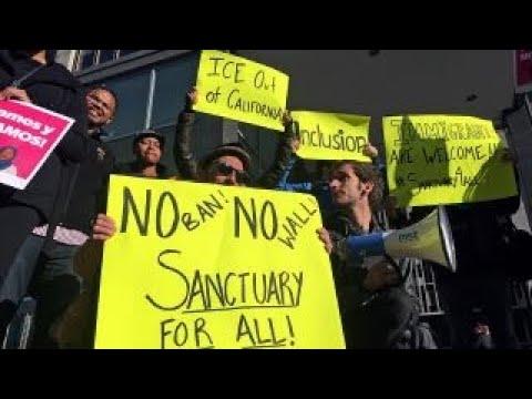 Federal judge blocks Trump's sanctuary city order