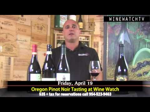 Oregon Pinot Noir Tasting at Wine Watch