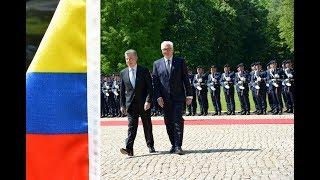 Ehrenbataillon - Kolumbiens Präsident - militärische Ehren