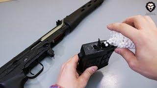 страйкбольная винтовка Cyma CM057A СВД видео обзор