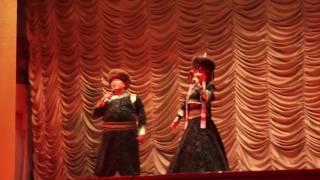 Зоригто и Нонна Тогочиевы город Кяхта концерт в ГДО  12.11.2016 год