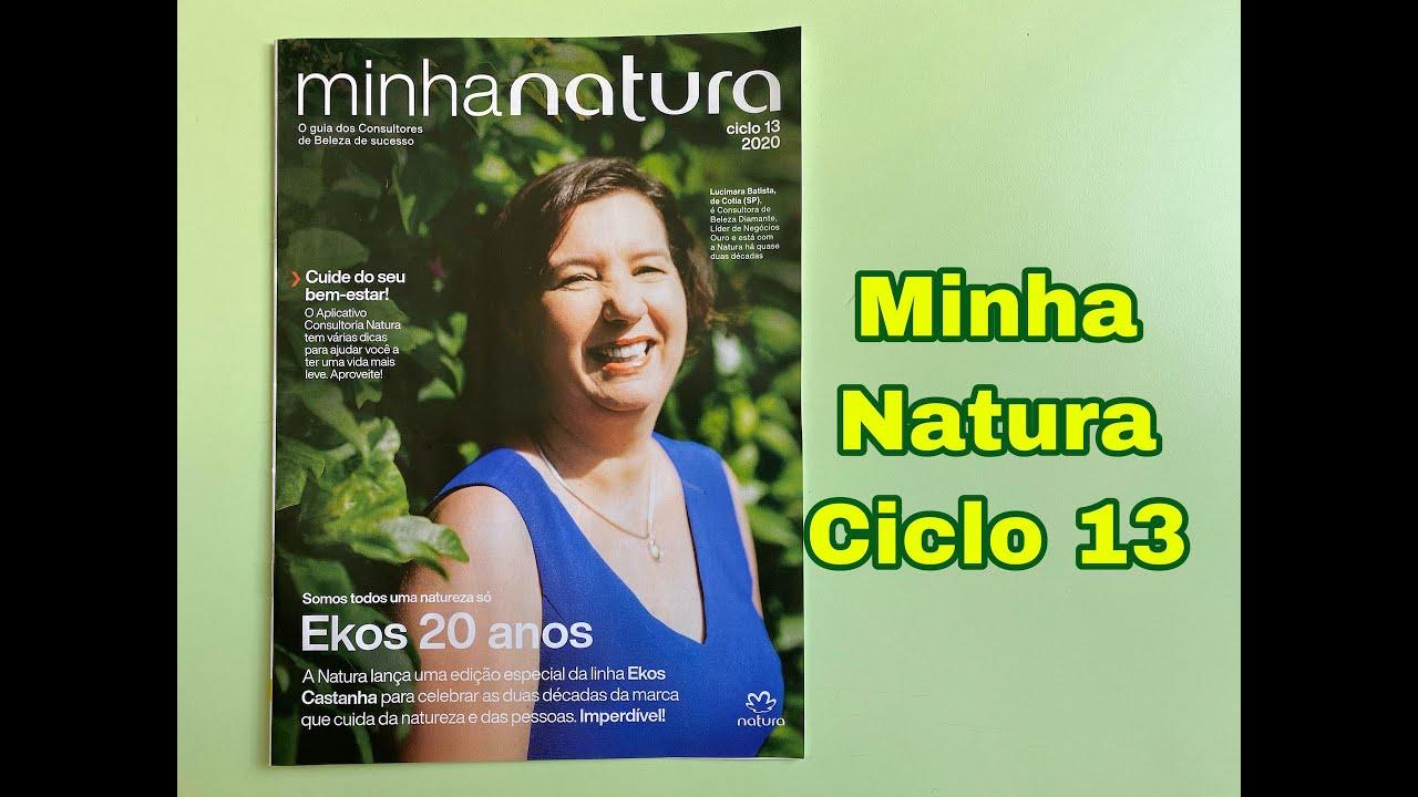 Revista Minha Natura - Ciclo 13 de 2020