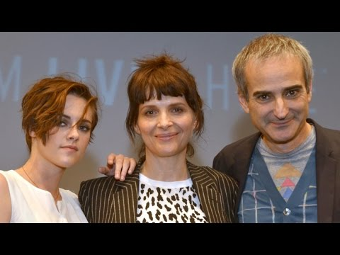 "NYFF52: ""Clouds of Sils Maria"" Q&A | Kristen Stewart, Juliette Binoche, Olivier Assayas"