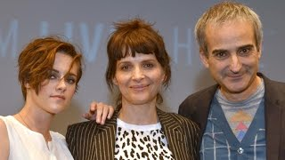 "NYFF52: ""Clouds of Sils Maria"" Q&A   Kristen Stewart, Juliette Binoche, Olivier Assayas"