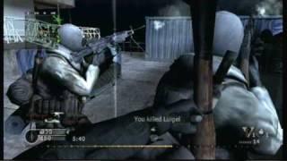 Call of Duty: Modern Warfare Reflex (Wii): Team Deathmatch on Wetwork