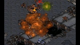 herO (Z) v Sharp (T) on Circuit Breakers - StarCraft  - Brood War REMASTERED