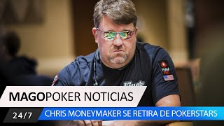 CHRIS MONEYMAKER / Se retira un grande del poker. #Pokernoticias #Chrismoneymaker