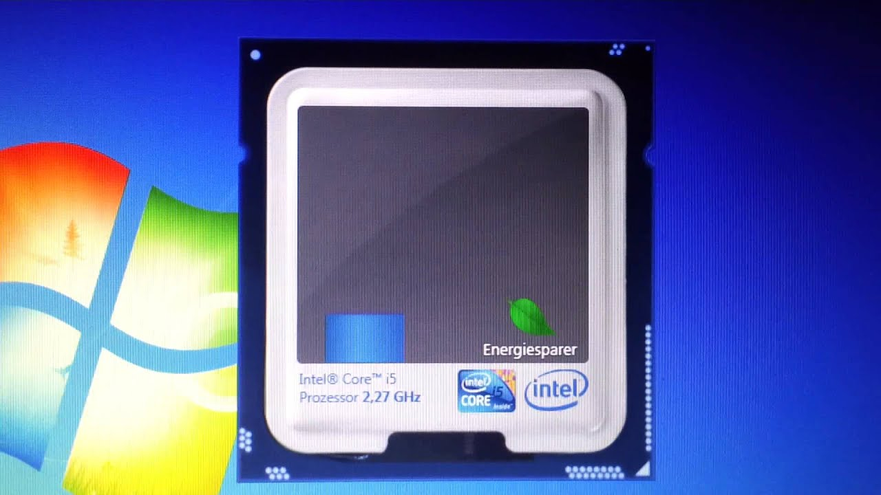 Intel® Core™ i5 2.27GHz Turbo Boost Up to 2.53GHz - YouTube