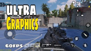 CALL OF DUTY MOBILE ULTRA GRAPHICS | 60 fps Hdr Gameplay