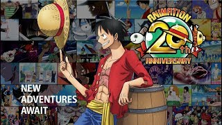 ONE PIECE Animation 20th Anniversary Promotional Video 1999-2019 thumbnail