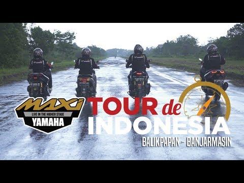 MAXI YAMAHA Tour de Indonesia: Etape Balikpapan - Banjarmasin | GridOto | Videotorial