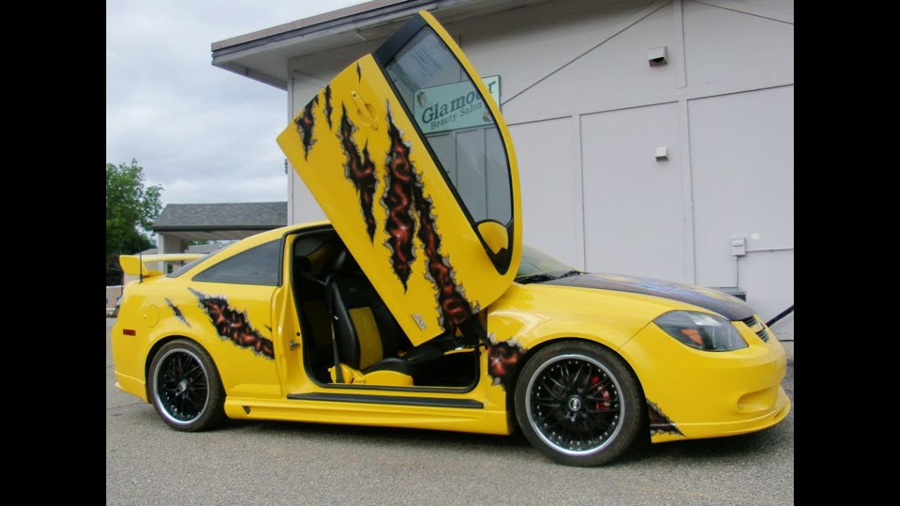 2006 chevy cobalt ss supercharged custom airbrush lamborghini doors sports show car
