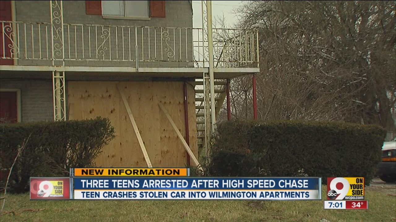 3 teens arrested in Clinton County high-speed chase, crash