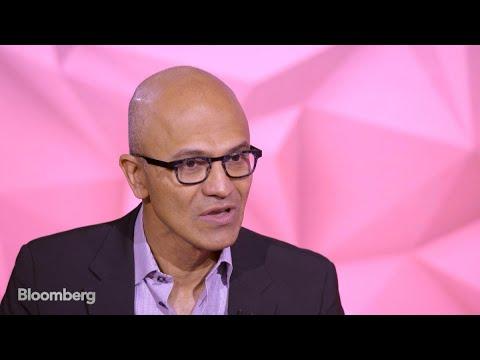 Satya Nadella: Bloomberg Studio 1.0 Full