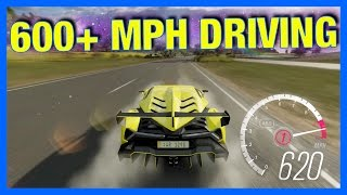 Forza Horizon 3 Online : 600+ MPH TOP SPEED DRIVING!! (New Speed Glitch)