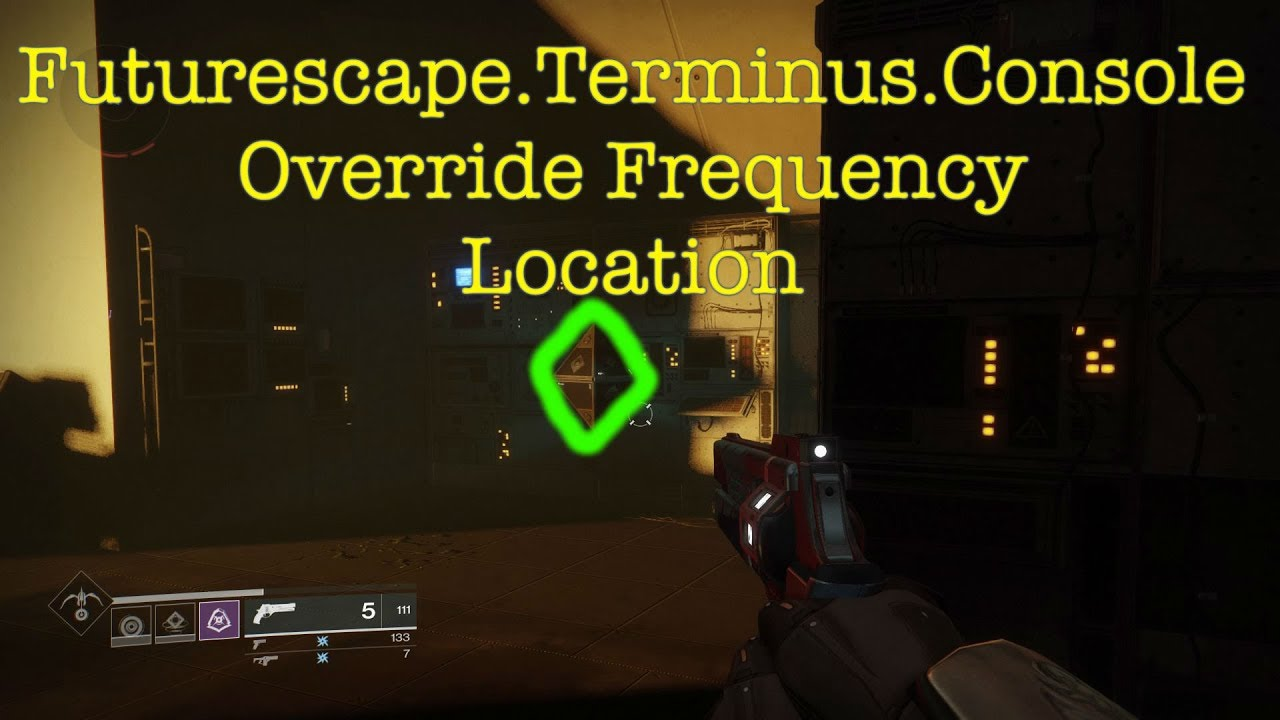Location Console Destiny 2 Futurescape Terminus Console Override Frequency Location
