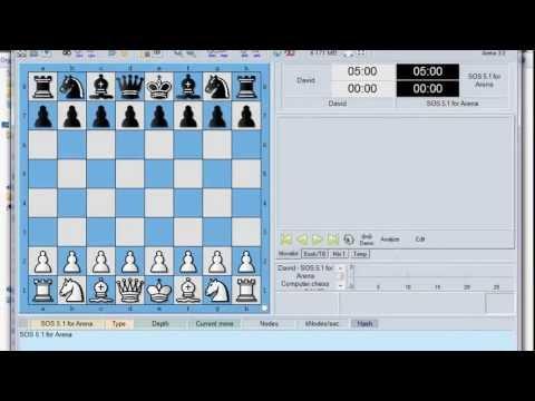 RISORSE INTERNET SCACCHI 10 - Arena Chess - Programma Interfaccia