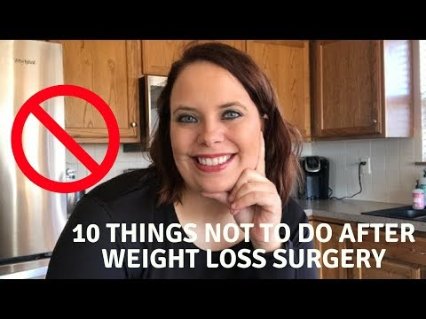 Mistakes After Weight loss Surgery | Gastric Sleeve Surgery | VSG