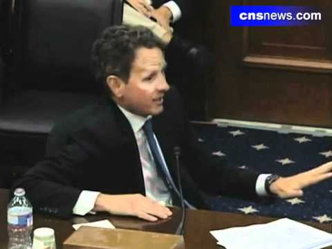 Rep. Renee Ellmers Questions Timothy Geithner At Business Hearing