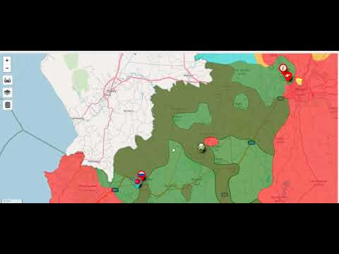 Syria Civil War Map 21/05/2018 AFRIN