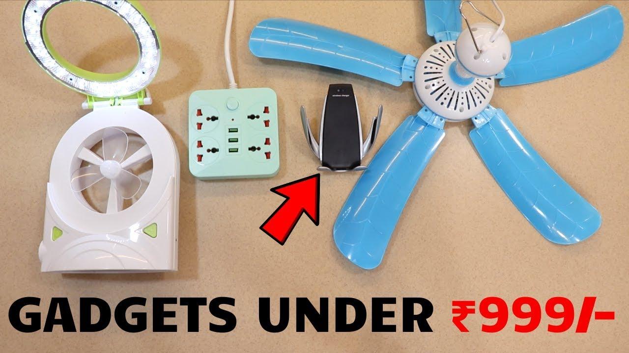 Top-Tech-Geräte unter Rs.1000 | Flipkart India | Einzigartige Gadgets 🔥 + video