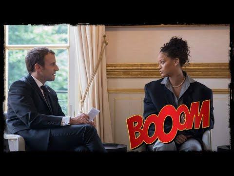 """Rihanna """"inspirée"""" par Emmanuel Macron"""